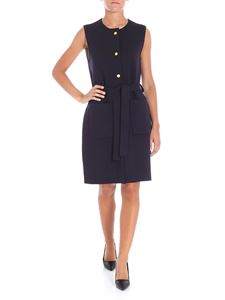 Tory Burch - Dark blue sleeveless dress