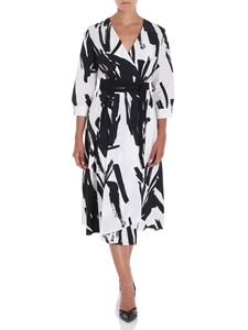 Max Mara Weekend - Black and white cotton Cartone dress