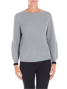 Max Mara Weekend - Fisherman ribbed grey Novella pullover
