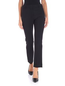 Max Mara Weekend - Pesche black stretch trousers