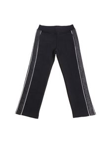 Givenchy - Black pants with branded inserts