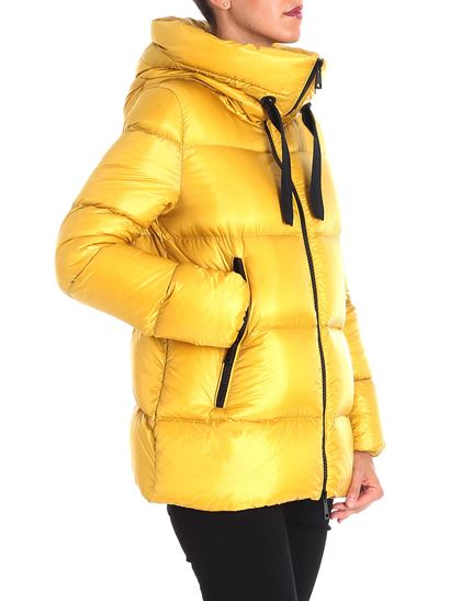 1ed66936ffb good moncler yellow serin down jacket 206c6 0d793