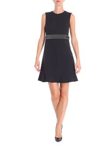 Red Valentino - Black dress with silver studs