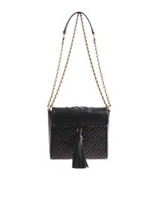 Tory Burch - Borsa nera Fleming box