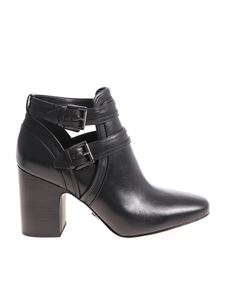 Michael Kors - Black Blaze ankle boots with buckles