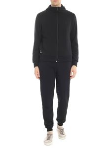 Plein Sport - Brushed black jumpsuit