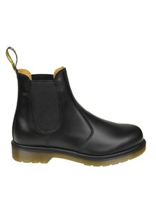 Dr. Martens - Black leather Chelsea ankle boots