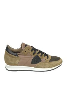 Philippe Model - Tropez L mud color sneakers