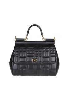 Dolce & Gabbana - Black leather Miss Sicily handbag