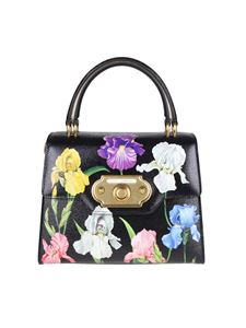 Dolce & Gabbana - Black printed leather bag