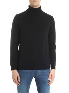 Roberto Collina - Black knitted turtleneck