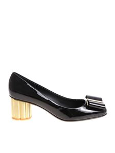 Salvatore Ferragamo - Black Capua 55 shoes