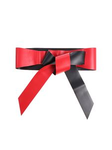 Pinko - Black and red Umberto sash