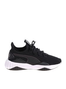 Puma - Black and white Defy sneakers