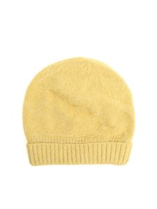 Roberto Collina - Yellow angora cap