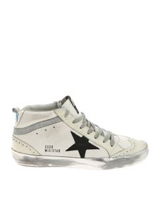 Golden Goose Deluxe Brand - White Mid Star sneakers