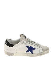 Golden Goose Deluxe Brand - Superstar white vintage effect sneakers