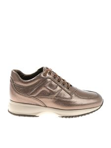 Hogan - Interactive bronze sneakers