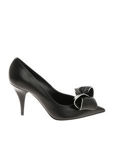 Casadei - Black pumps with bow