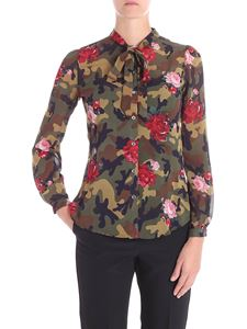 Twin-Set - Floral camouflage shirt
