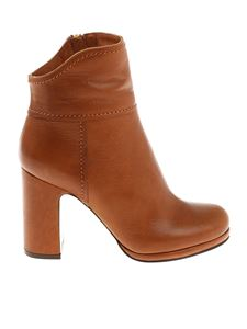 L'Autre Chose - Tan colored ankle boots