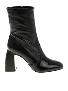 L'Autre Chose - Black patent leather boots