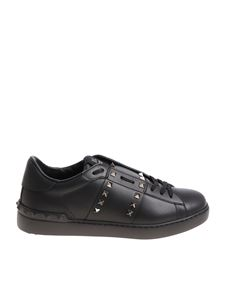 Valentino - Black Rockstud sneakers (Untitled collection)