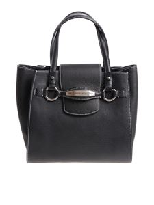 Ermanno Scervino - Black leather medium Tote bag