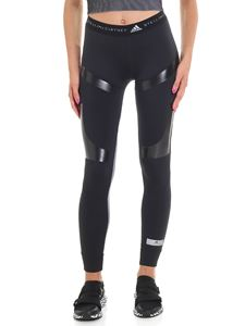 Adidas by Stella McCartney - Black and white Run Ultra Tight leggings