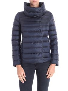 Colmar - Blue down jacket with crater collar