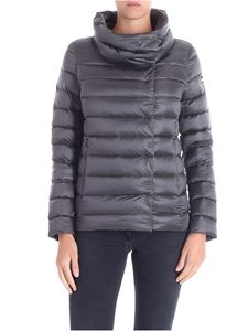 Colmar - Dark grey Place down jacket with crater collar
