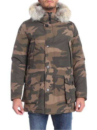 camouflage Inverno marrone parka e 1819 Autunno arctic Woolrich 1qxXc5zwW