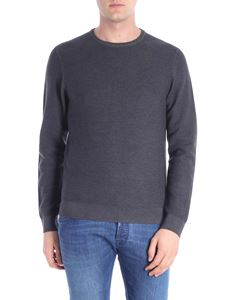 Woolrich - Knitted dark gray pullover