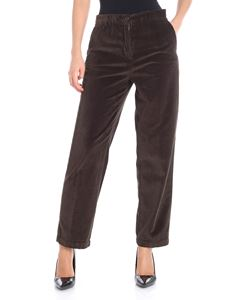 Aspesi - Brown corduroy trousers