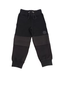 Hydrogen - Black sweatpants with rubberised logo applied