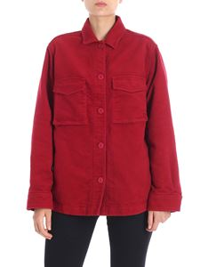 Aspesi - Red jacket with shirt collar