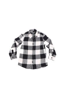 Hydrogen - Black and white checked shirt