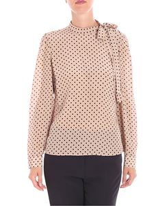 Red Valentino - Beige blouse with polka dots