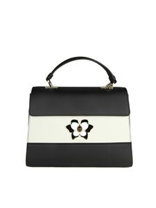 Furla - Color-block leather Mughetto bag
