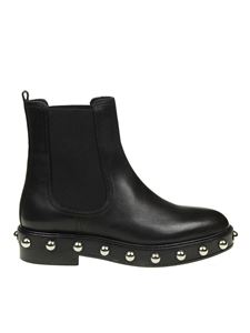 Red Valentino - Black leather chelsea boots