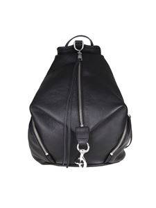 Rebecca Minkoff - Black leather Julian backpack