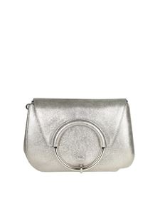 Furla - Steel color Margherita shoulder bag