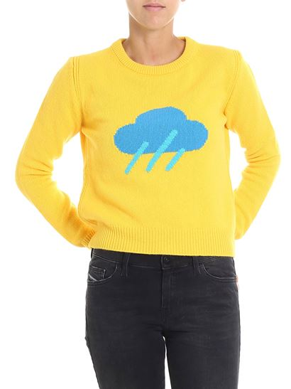 comprare popolare 00058 71a7d Yellow Weather crew neck pullover