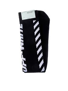 Off-White - Blue and white Wing Off socks