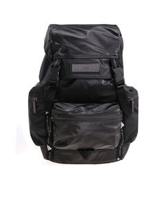 Adidas by Stella McCartney - Black recycled technical fabric backpack