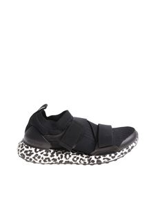 Adidas by Stella McCartney - Black UltraBoost X running sneakers with animalier sole