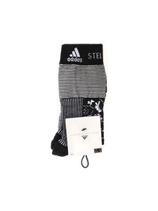 Adidas by Stella McCartney - Black and white printed socks
