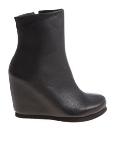 Peter Non - Black Hora leather ankle boots