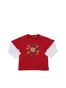 Moschino Kids - Red Teddy Bear T-shirt
