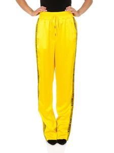 Off-White - Yellow Pajama Equestrian pants